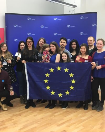 Voluntarios Dancing for Europe