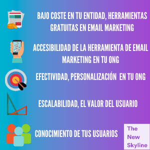 razones email marketing en tu ong